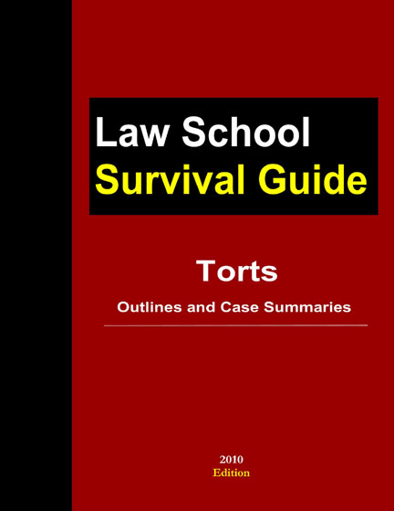studies in american tort law case briefs This essay has been submitted by a law student this is not an example of the work written by our professional essay writers case study of breach of contract.